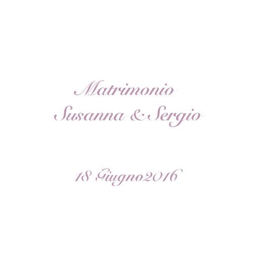 copertina album matrimonio Susanna